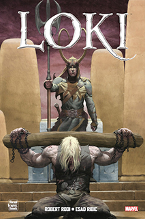 Portada de Loki de Robert Rodi.
