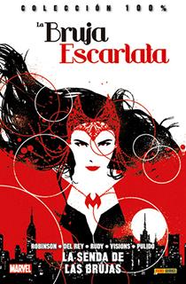 Portada del cómic Bruja Escarlata: la senda de las brujas.