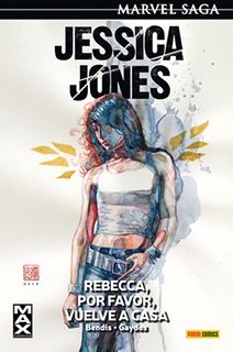 Portada del cómic Jessica Jones: Rebecca, por favor, vuelve a casa.